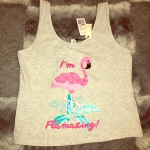 (3fpr$20)Grey forever 21 tank NWT